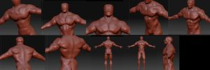 Zbrush exercise 3 by Hankins