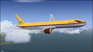 B777-9X 'Boeing Retro House #1' Repaint by agnott