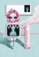 Pastel Bleeding - X-Ray by mai-coh