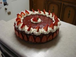 Strawberry Cheesecake by AbsolutelyFascinated