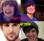 Smosh : Before and After by MsBaconator