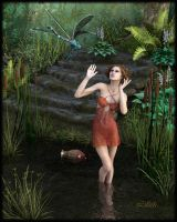 The Pond by LillithI