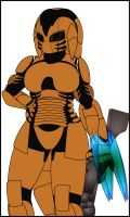 Mitzy armor(gift/request/idontremember) by madcomm