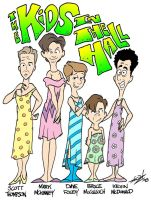 Kids In The Hall Caricature by JayFosgitt
