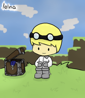 YOGSCAST Lalna by CrystalBluePuppy