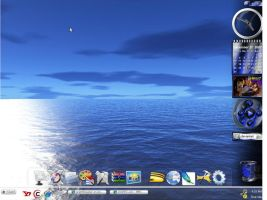 my desktop by graffitimaster