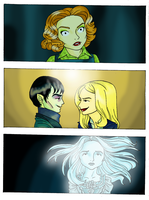Dark Shadows. Scenes by DemonCartoonist