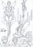 Astro Sketches by Star10