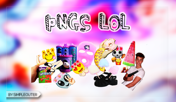 Pngs ''Lol'' by Simpleouter