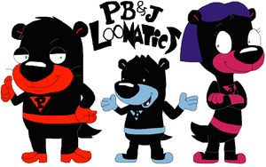 PB and J Loonatics by JustinandDennnis
