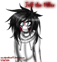 Jeff the Killer by Fennix-Cat