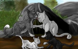 Request: Rainstar's Family by puddlecat1