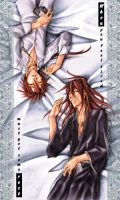 renji and reno- rest color ver by pandabaka