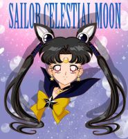 CO- Sailor Celestial Moon Bust by FireFlea-San