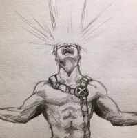 Cyclops sketch by ninjason57