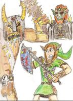 Link and the Ogre by Luke-the-F0x