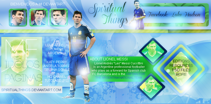 +Leo Messi // ID by SpiritualThings