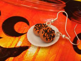 Halloween Doughnuts by DeliciousTrickery
