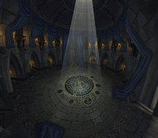 Lordaeron Throne Room by Lost-In-Concept