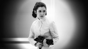 Carrie Fisher Princess Leia XLIV by Dave-Daring