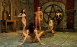 Consorting with Demons by Dracis3D