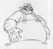 Giant Wario by EnterPraiz