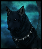 Wolf's Rain Blue by Featherhaze