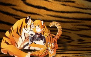 Tiger Girl by RinKagamineMeltdown