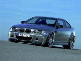Beemer M3 CSL turbo by Vipervelocity