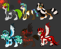 Pony Adoptables -OPEN- by SilenceMoonskin