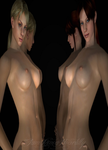 Sexy Jill and Claire by IamRinoaHeartilly