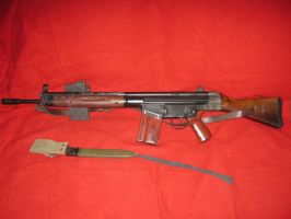 CETME 308.cal Spanish Rifle by vonmeer