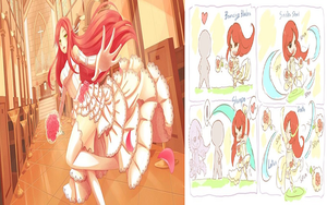 Wedding Katarina Skin With Skill by witchakorn