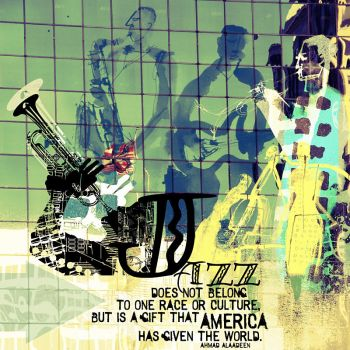 Jazz Collage by Diamara