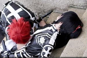 Lavi and Kanda Yu Cosplay by theDevil-photography
