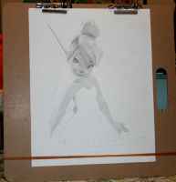 Tinkerbell WIP 1 by ariess