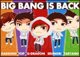 BIG BANG IS BACK by driflooning