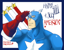 Happy 4th of July 2014 by Ishida1694