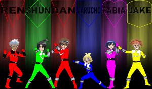 Bakugan Time Rangers for jankacperek111 by rangeranime