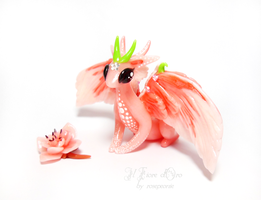 Antea, Japanese Cherry Blossom dragon by rosepeonie