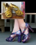 Stained-Glass Heels by CeruleanSyzygy