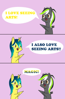 I Like Arts by Mystic-L1ght