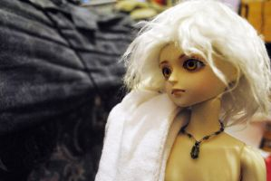 New Doll - with towel by kirsten7767