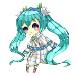 Snow Miku 2015 by wavecharted
