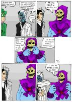 Two-Face Meets No Face by TheMonkeyYOUWant