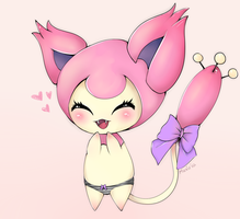Skitty by Maxiria