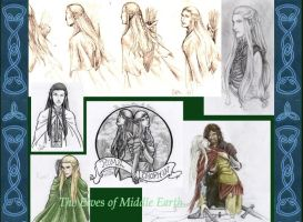 The Elves of Middle Earth by jamberry