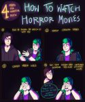 How to watch horror movies by EsekBazgroli
