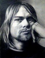 Kurt Cobain by Particularly-x