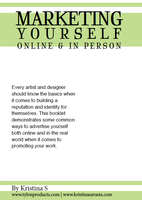 Marketing Yourself Booklet by Tylon